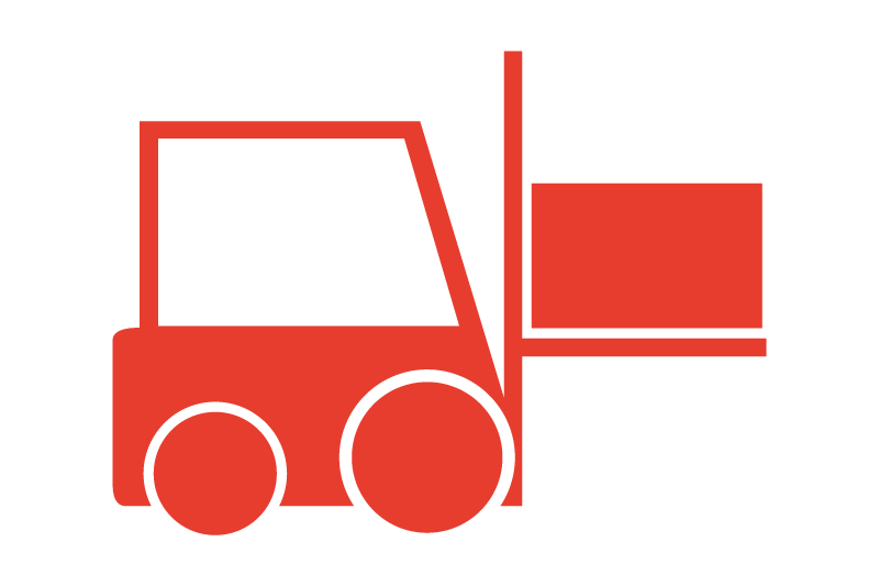 Warehousing and Distribution Icon and Link
